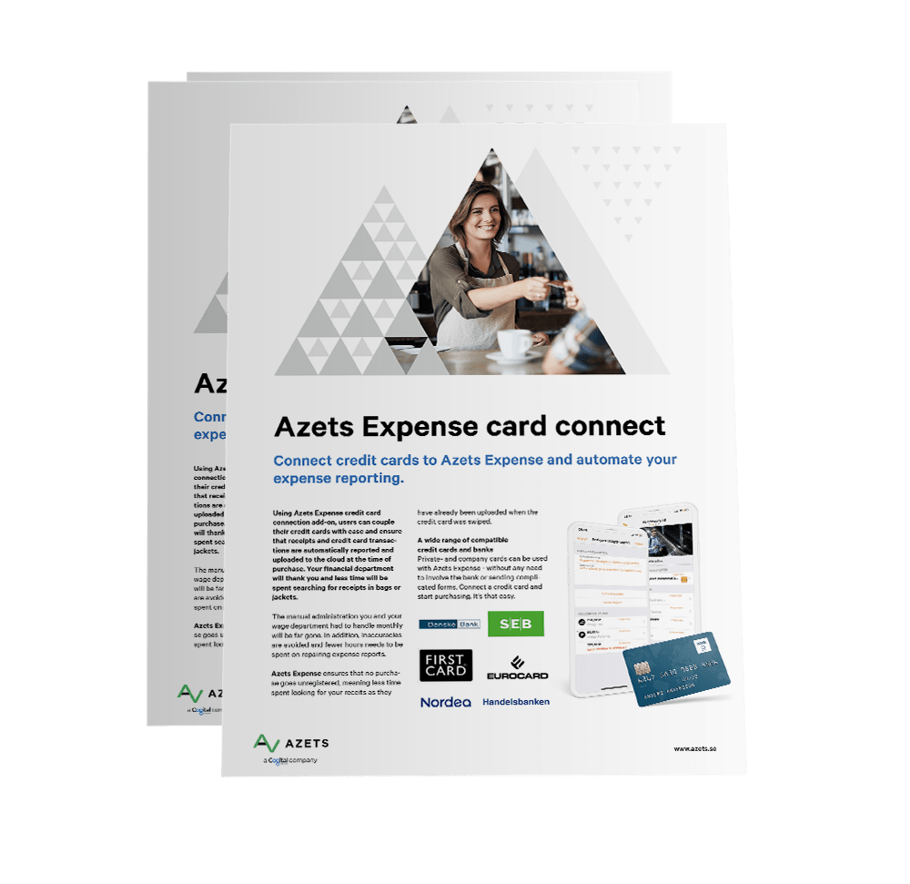 Azets Expense Card Connect